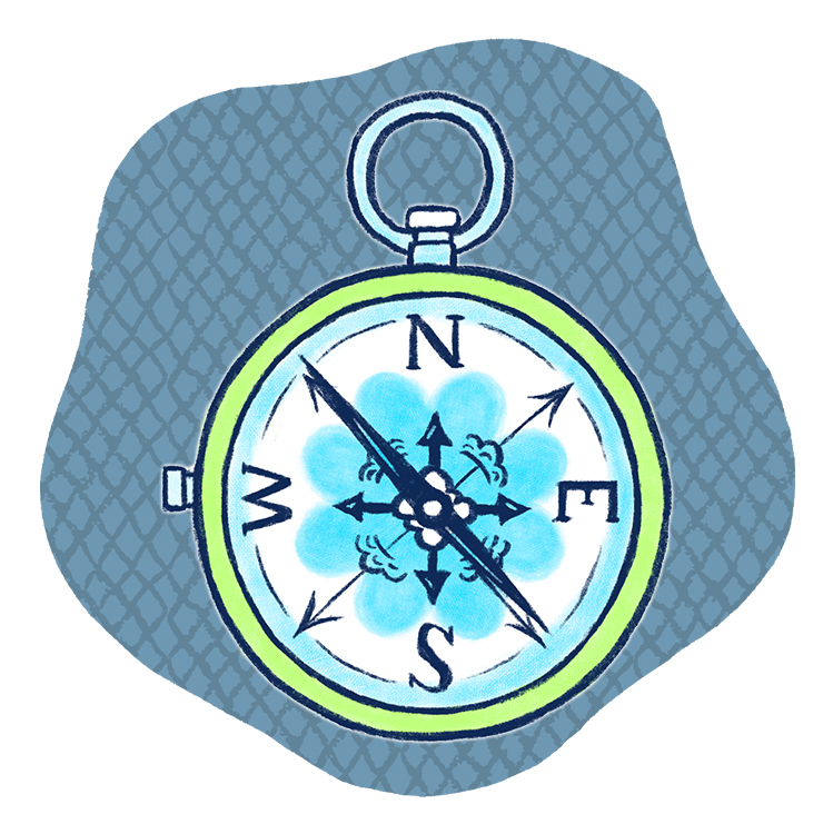 【銀の羅針盤座】ゲッターズ飯⽥の2021年五星三心占いをチェック