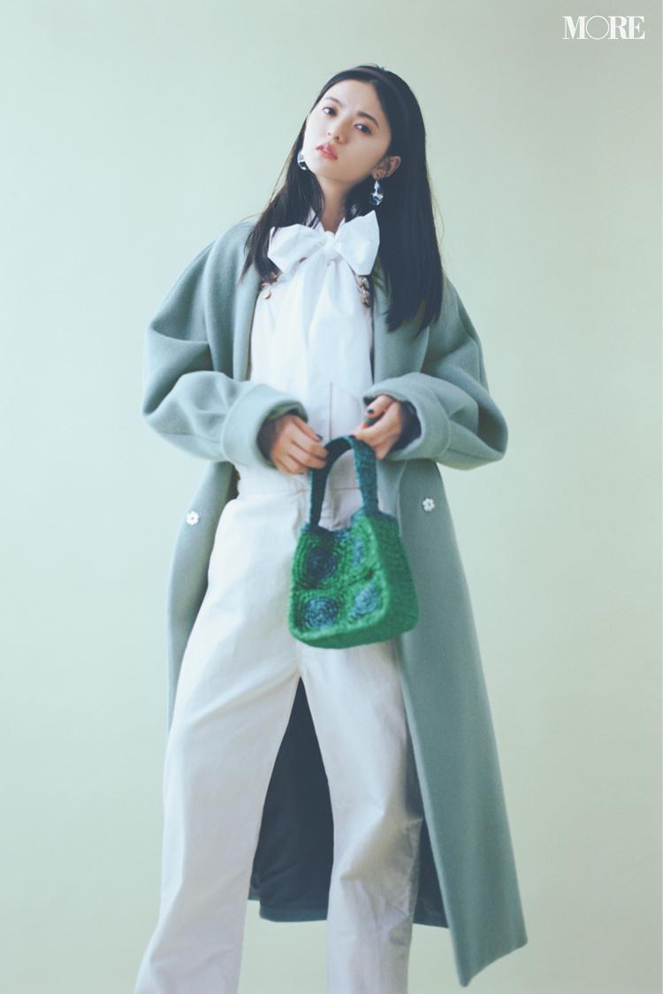 """齋藤飛鳥、きれい色を着る。今年のコートは""""着たい色""""で選ぶのがあか抜け見えのコツ!_3"""