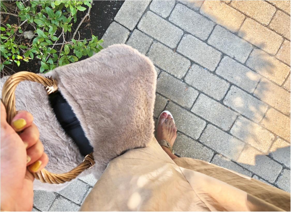 《完売必至》これで¥1000⁈【3coins】ファー付きカゴバッグが可愛すぎる❤️_5