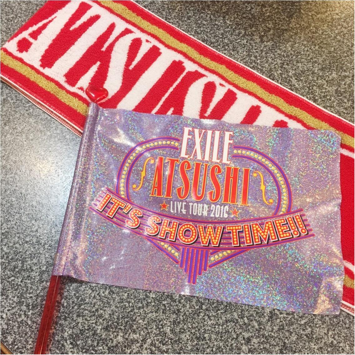 EXILE ATSUSHIさんのソロライブへ行ってきました♡_1