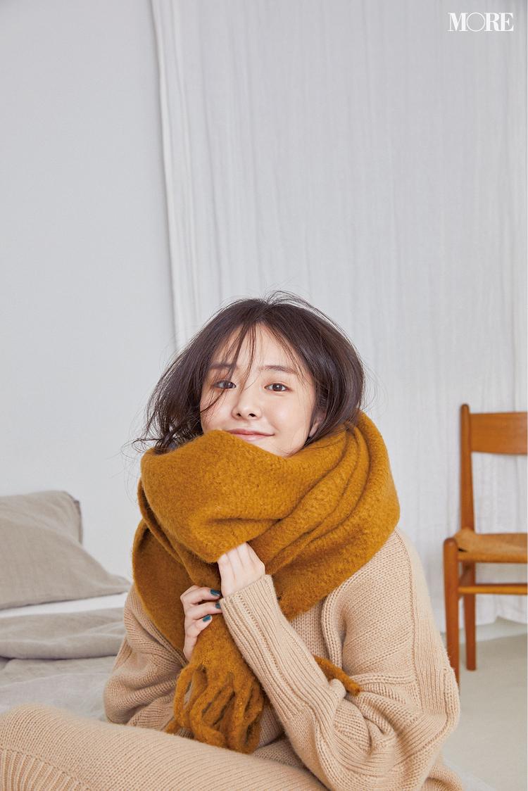 寒がりスタイリスト直伝!気温10度以下の日のワンピース、あったかく着る5つのこっそりテク♡_4