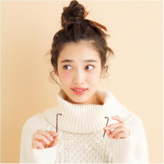 【RUMIさん直伝!週末モテ♡ヘアアレンジ】大人な甘えおだんご_1