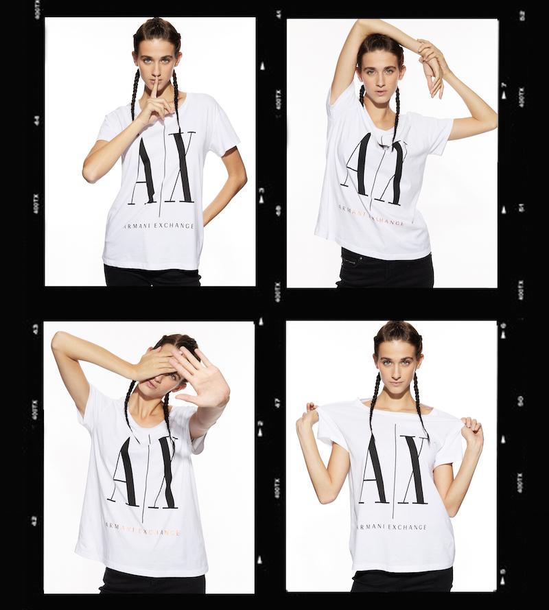 伝説のロゴTシャツを復刻発売中! 『A|Xアルマーニ エクスチェンジ』の90年代ムードを感じて_1