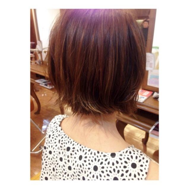 new hair ▶︎▷▶︎ ショートボブ_1
