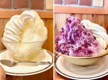 『コメダ珈琲店』のかき氷は2021年もデカ盛りで美味! 新作2種を食べ比べ