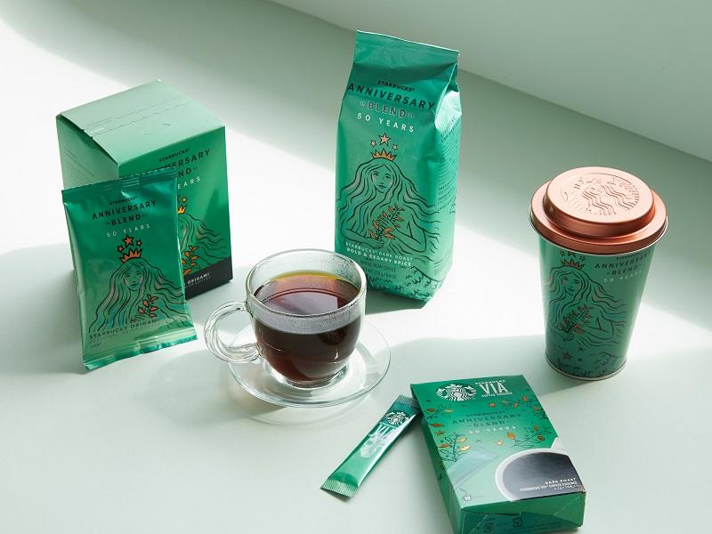 【スタバ 新作】創業50周年のために特別にブレンドされたコーヒー「スターバックス アニバーサリー ブレンド」