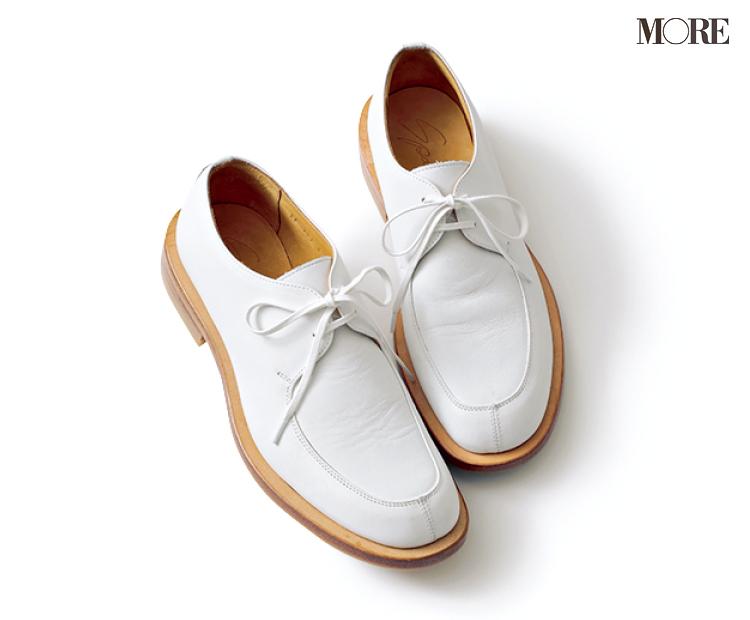 「おしゃれな軽さ」には真っ白なおじ靴が効果的♡ 夏から秋まで絶対使える一足をピックアップ!_2