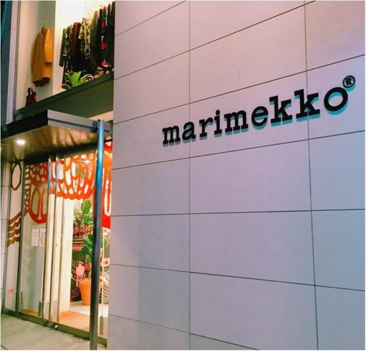 《DIYにもトライ★》marimekko(マリメッコ)のインテリアでお部屋を明るく♡!_1