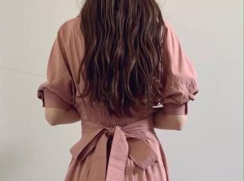 大人可愛い【SNIDEL】ピンクのロングシャツワンピース♡通勤にもデートにもおすすめ♡