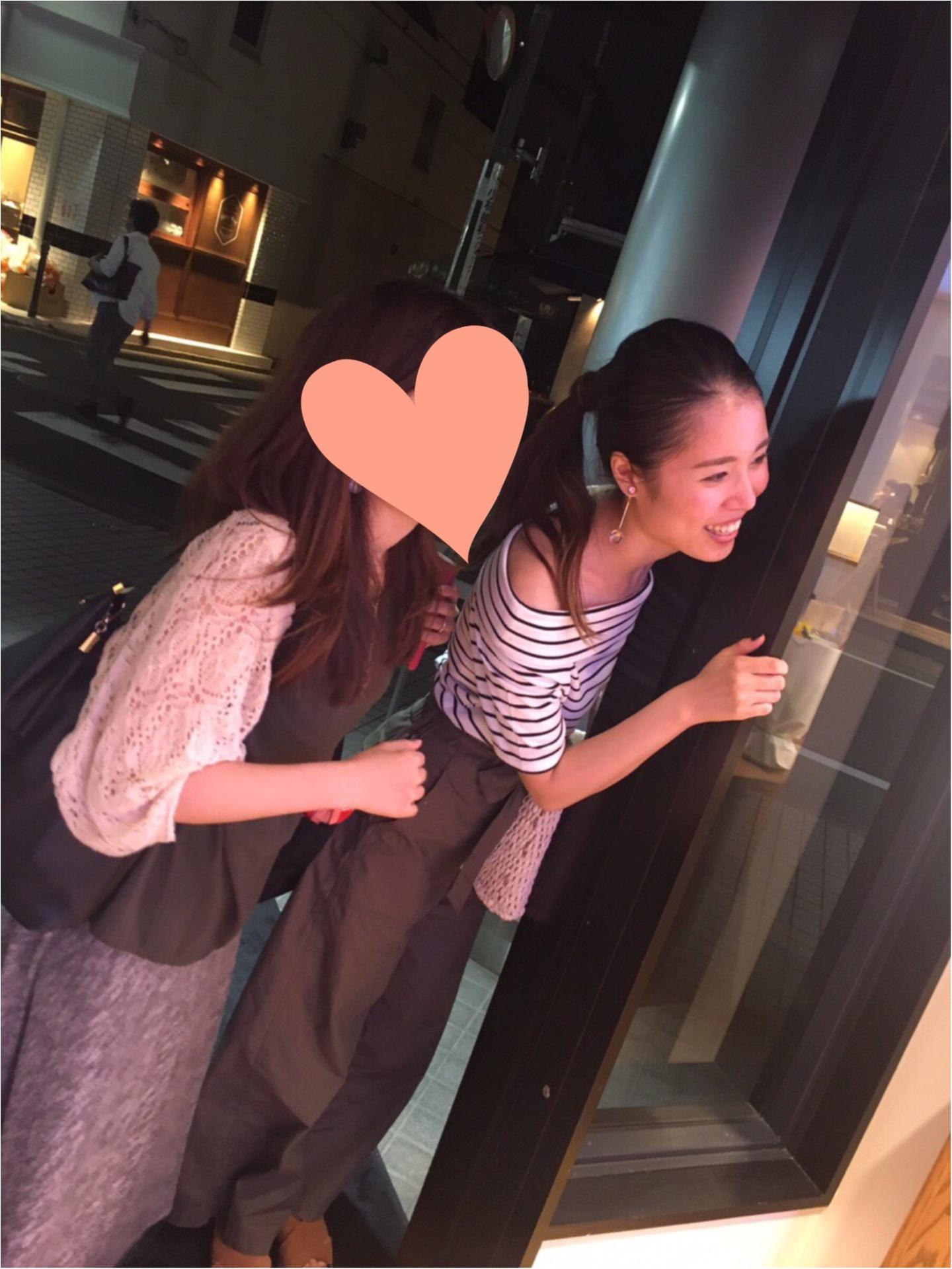 【UNIQLO】クルーネックTシャツと【カーキ】パンツで夏らしく♡_4