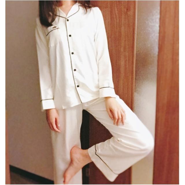 【GUパジャマ】可愛いうえにプチプラ!あなたはどのタイプを選ぶ?GETしたサテンパジャマを着てみました♡_5
