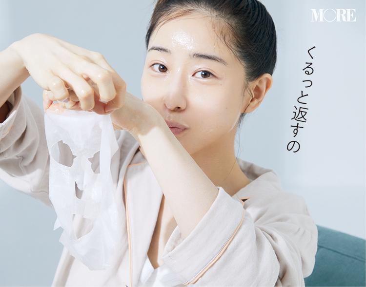 田中みな実さんがハマってる最新美容「乳液仮面返し」とは⁉ 自分史上最高のふっくら肌になれるシートマスクの使い方♡ _8
