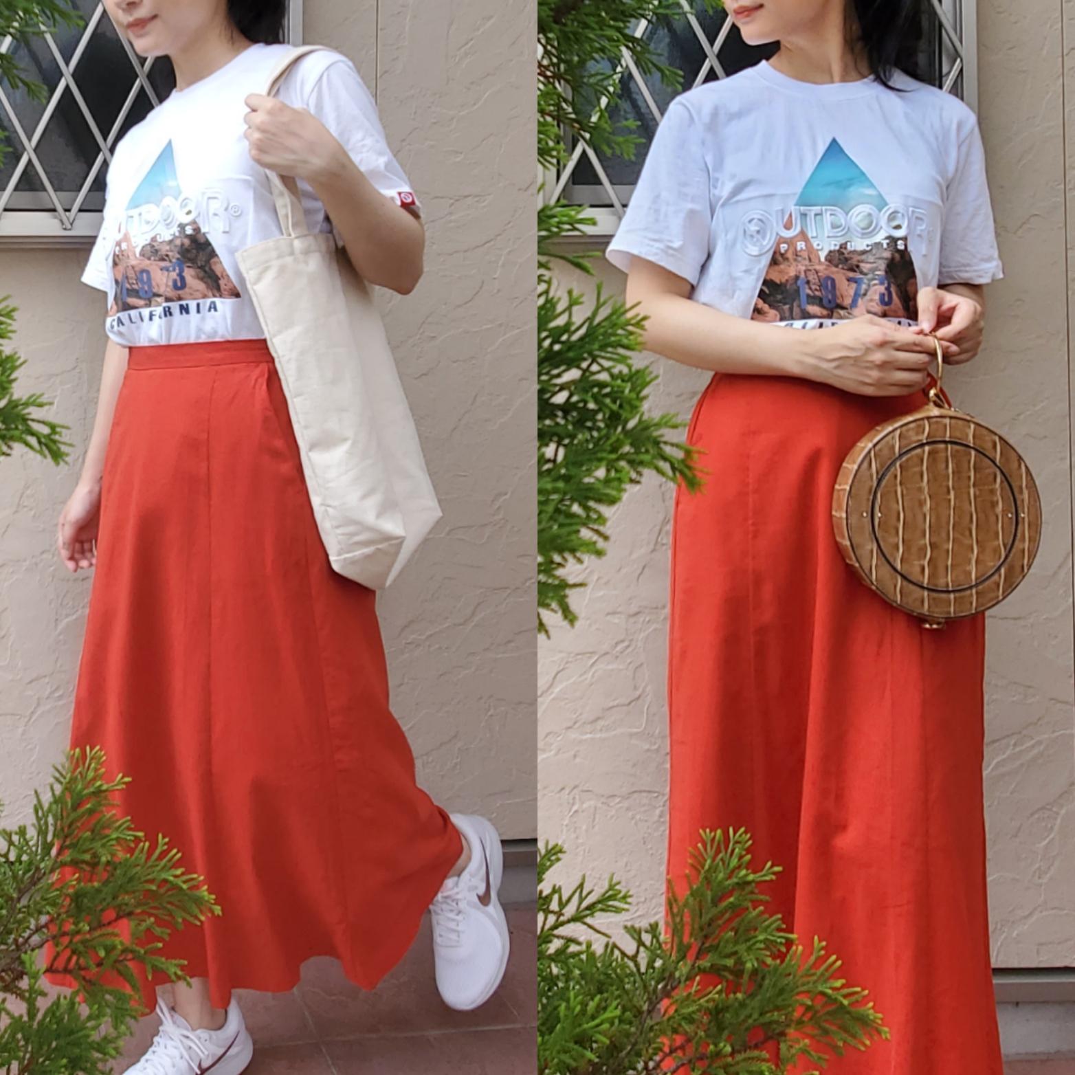 夏だ! 着回し【Tシャツ】はフォトTがお勧め☆_4