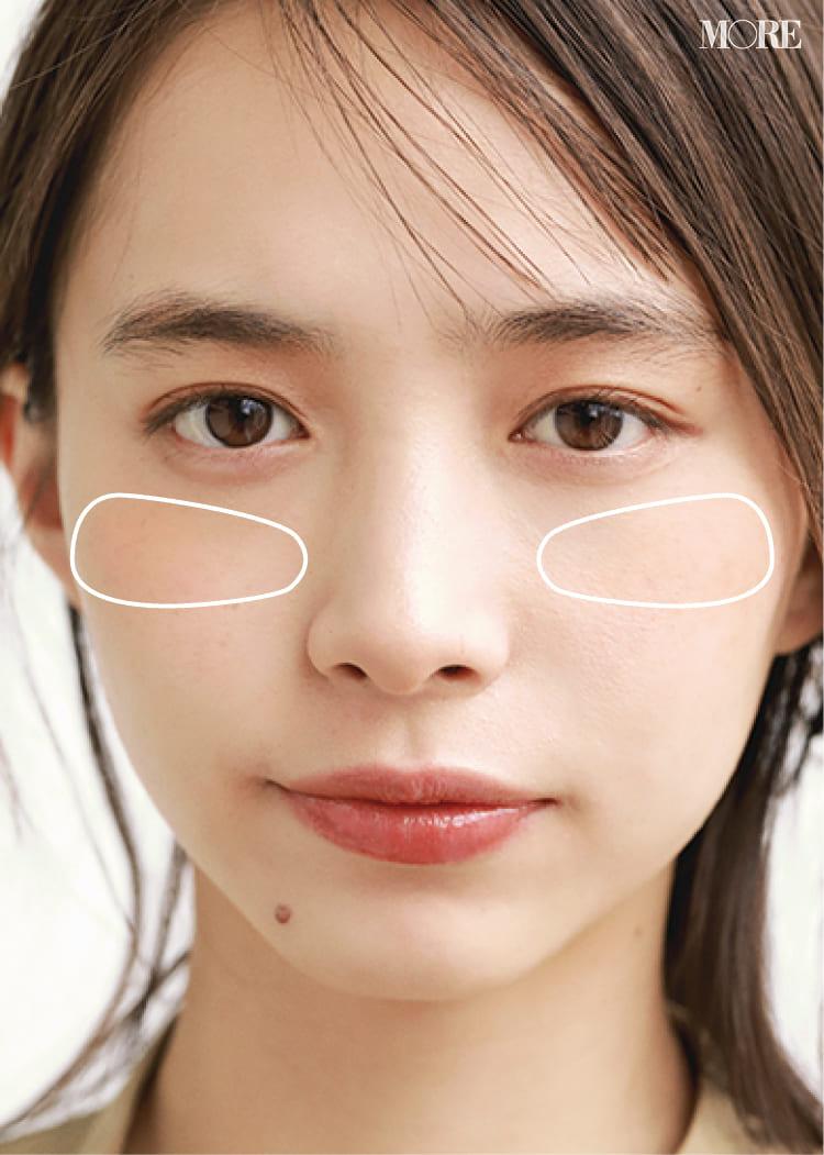 チークの入れ方【2020最新】- 顔型別の塗り方、リップと合わせる春の旬顔メイク方法まとめ_22