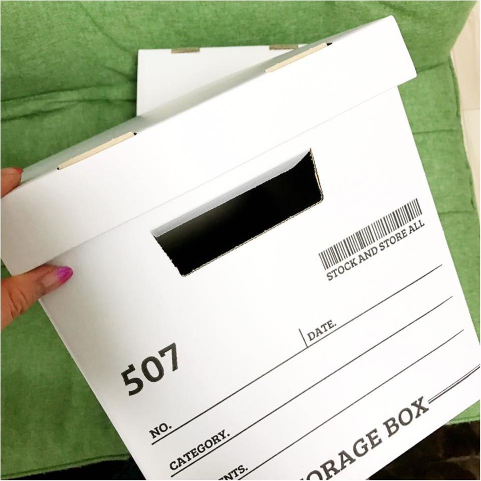 【100円ショップ購入品】ワッツの100円ストレージボックスがおしゃれで使いやすい!!_4