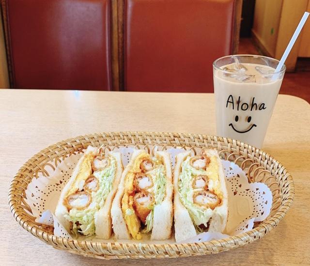 【みおしー遠征ログ❤︎名古屋】モーニングはコンパルのエビフライサンドで決まり!_2