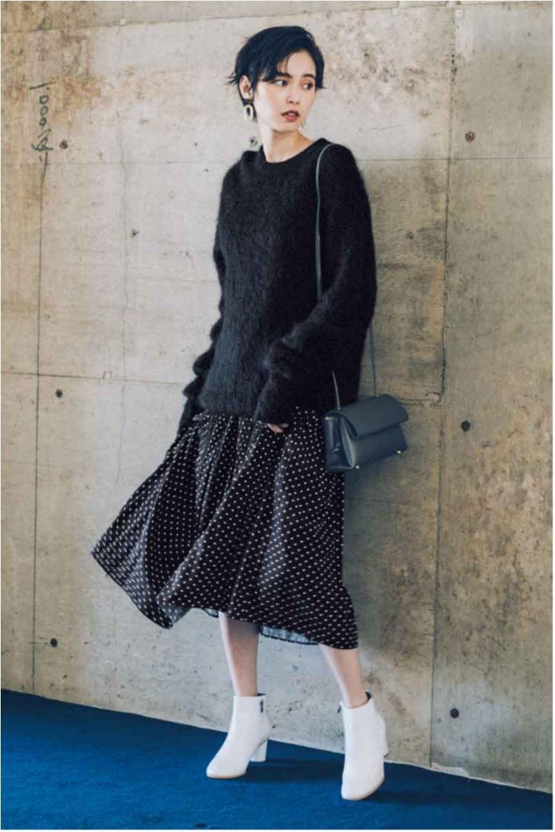 2018年秋のファッション ニット10