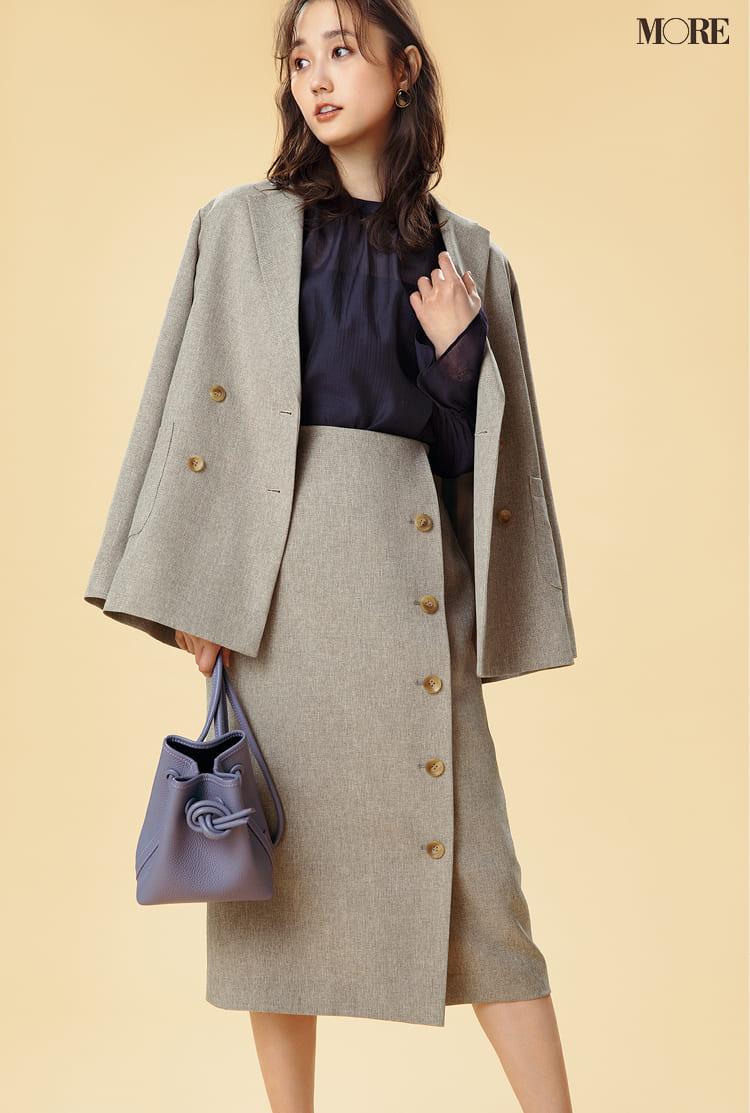 レディースセットアップ《2020》特集 - 人気ブランドのおすすめジャケット&パンツ・スカートのコーディネートまとめ_39