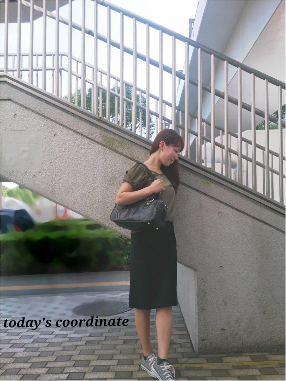 【ファッション】きれい目楽ちん♪ 大人カジュアルはペンシルスカートにお任せ!_1
