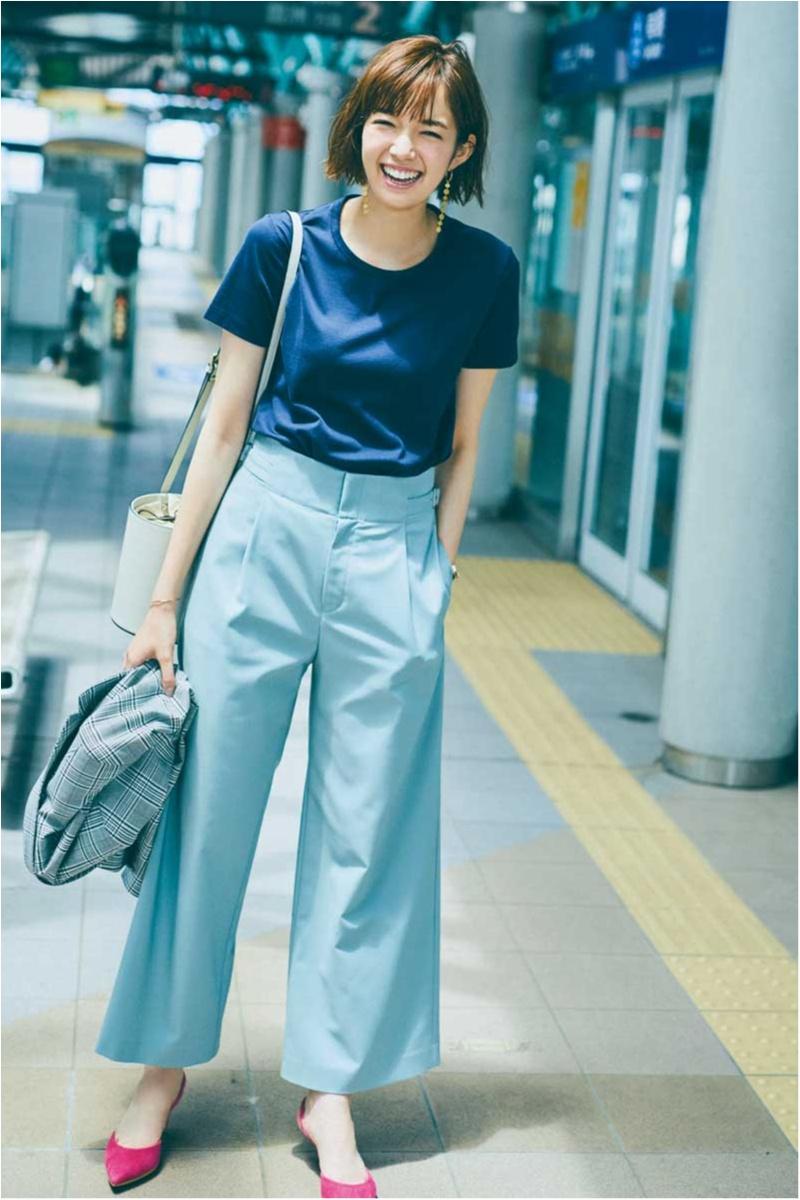 真夏のオフィスカジュアル特集 - ワンピースやTシャツなど、涼しげだけどきちんと見えが叶うコーデ_30