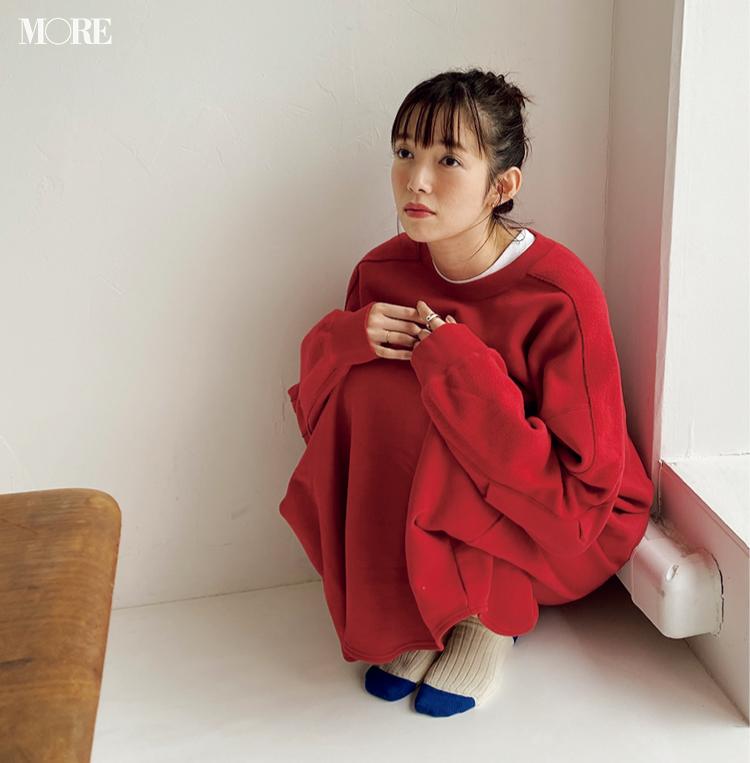 佐藤栞里のギャップにキュン♡【モデルのオフショット】_1