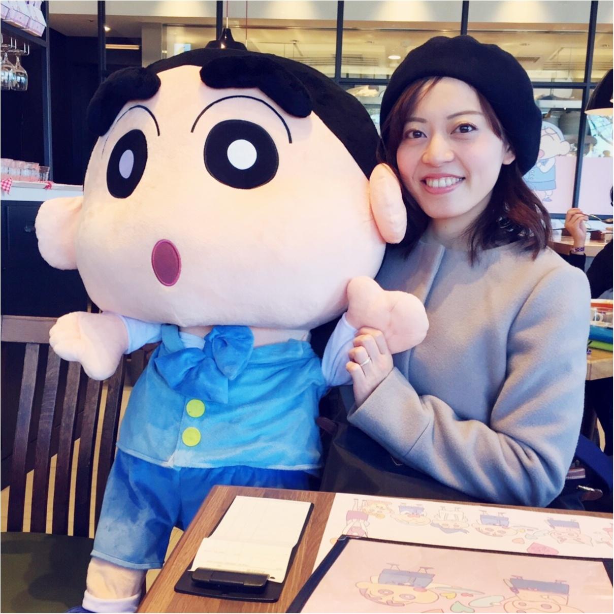 クレヨンしんちゃんコラボカフェ【ビストロオラマチ】に行ってきました♡_3