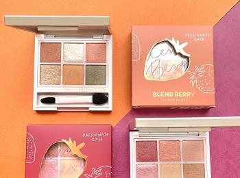 優秀プチプラ!『BLEND BERRY(ブレンドベリー)』の新色アイパレットをコスメマニア美容家・立花ゆうりが全部お試し!