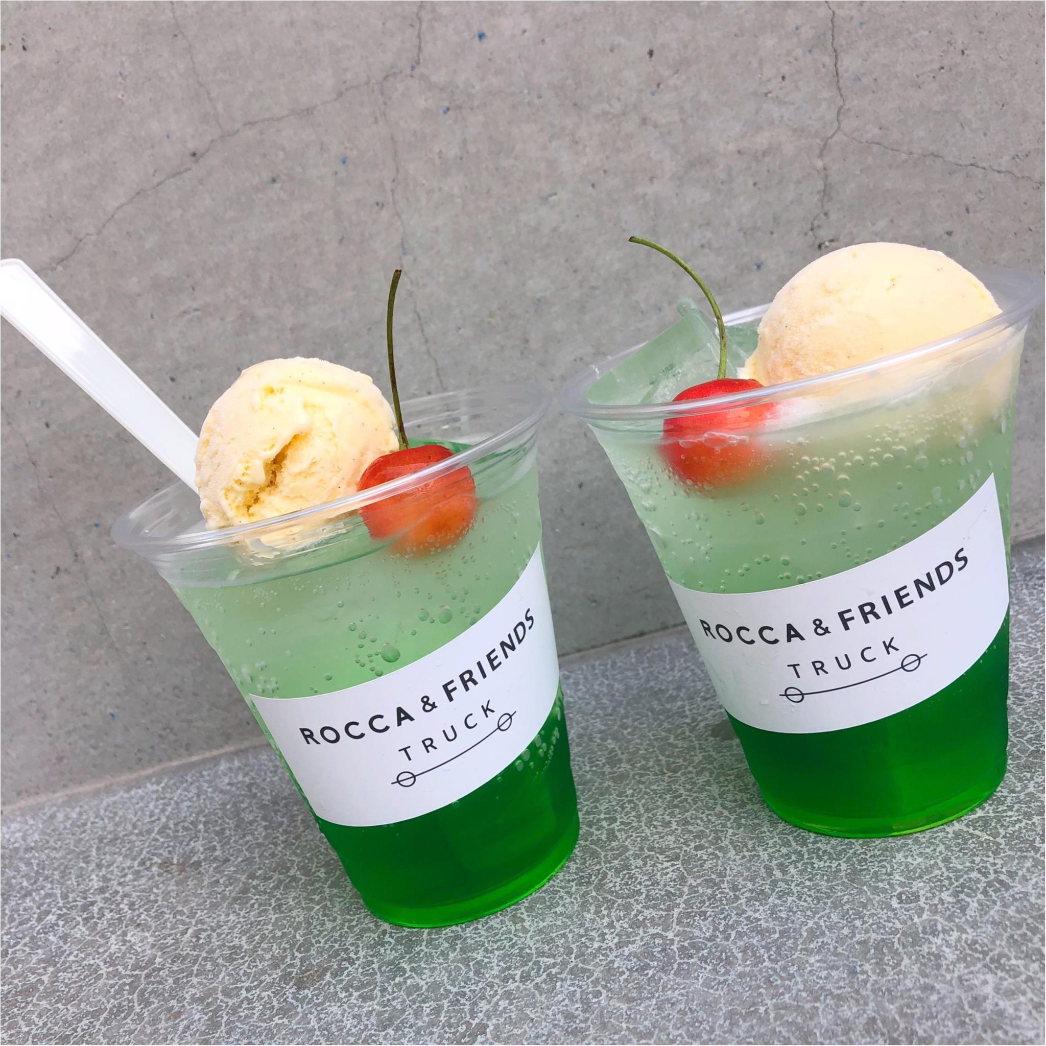 【京都八坂】夏にぴったり!ROCCA&FRIENDS TRUCKのドリンクが美味しい♡_1