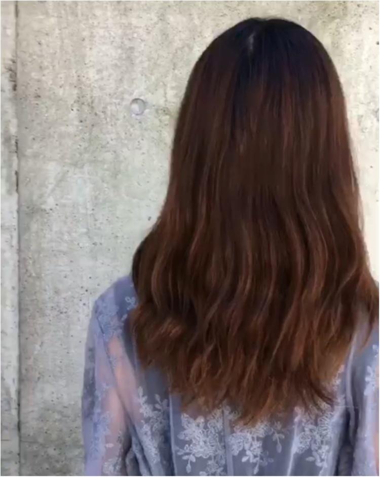 《暗髪でも圧倒的透明感!》秋のヘアカラーは【ラベンダーグレーアッシュ】がオススメ❤️_2