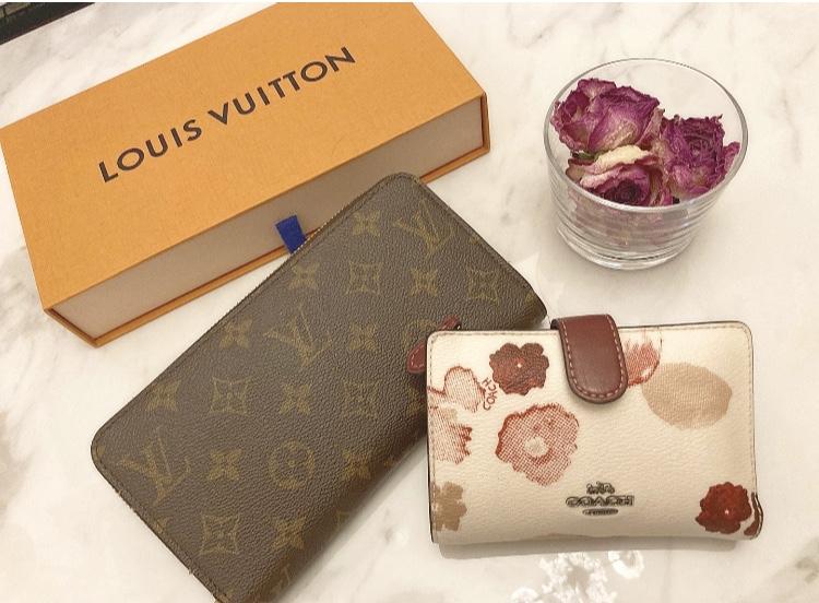 【20代女子の愛用財布】LOUIS  VUITTONの長財布×COACHのミニ財布を使い分け♡_1
