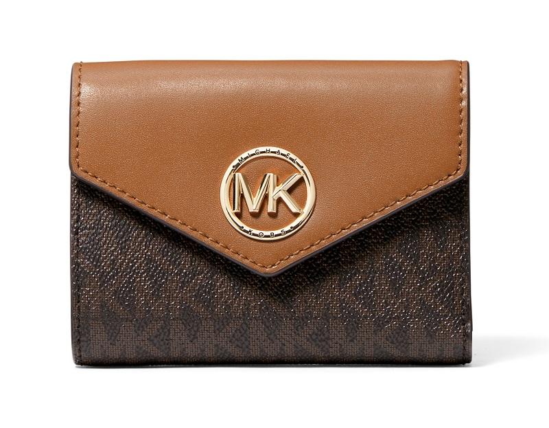 マイケルコースの茶系財布