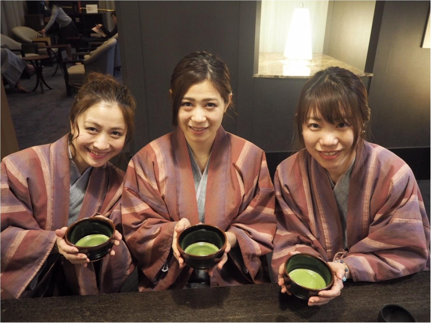 宿泊者は無料で楽しめる♡【碾茶(てんちゃ)と抹茶体験 】で浜松のお茶を堪能~♡【星野リゾート 界 遠州】_3