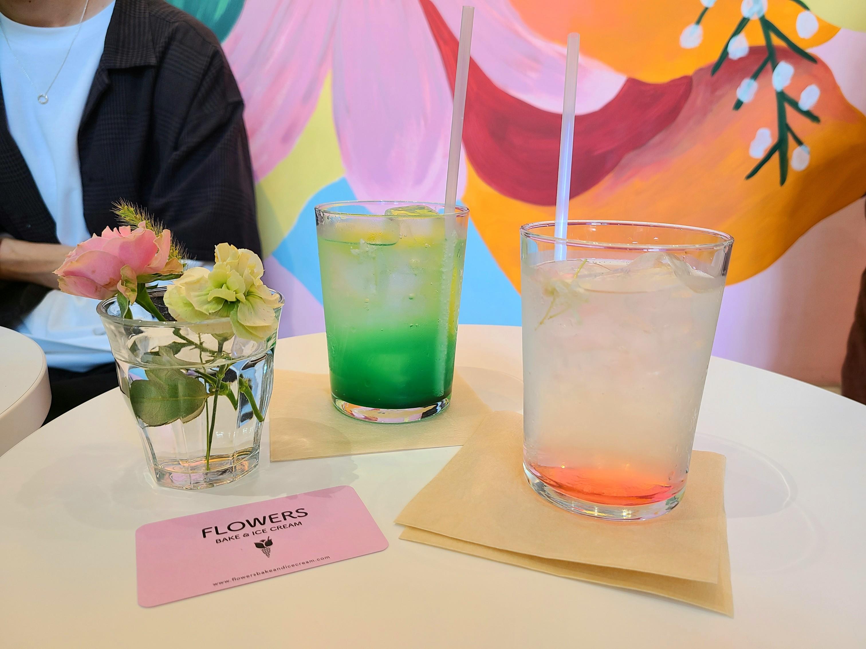 《FLOWERS BAKE&ICE CREAM》お花をコンセプトにしたカフェに行ってきた!@立川_5