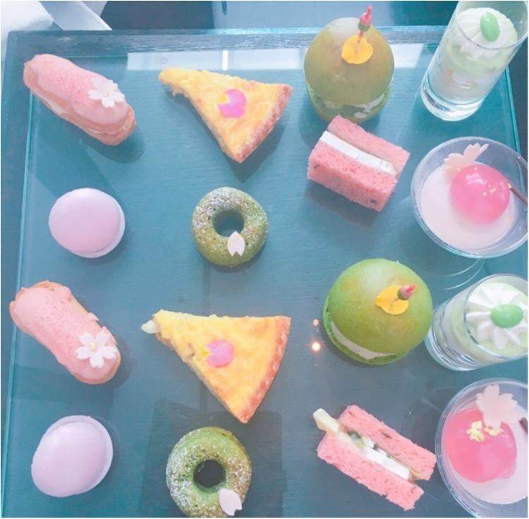 《春爛漫♡!》コンラッド東京で開催中の桜アフタヌーンティーで一足早いお花見を♡_2
