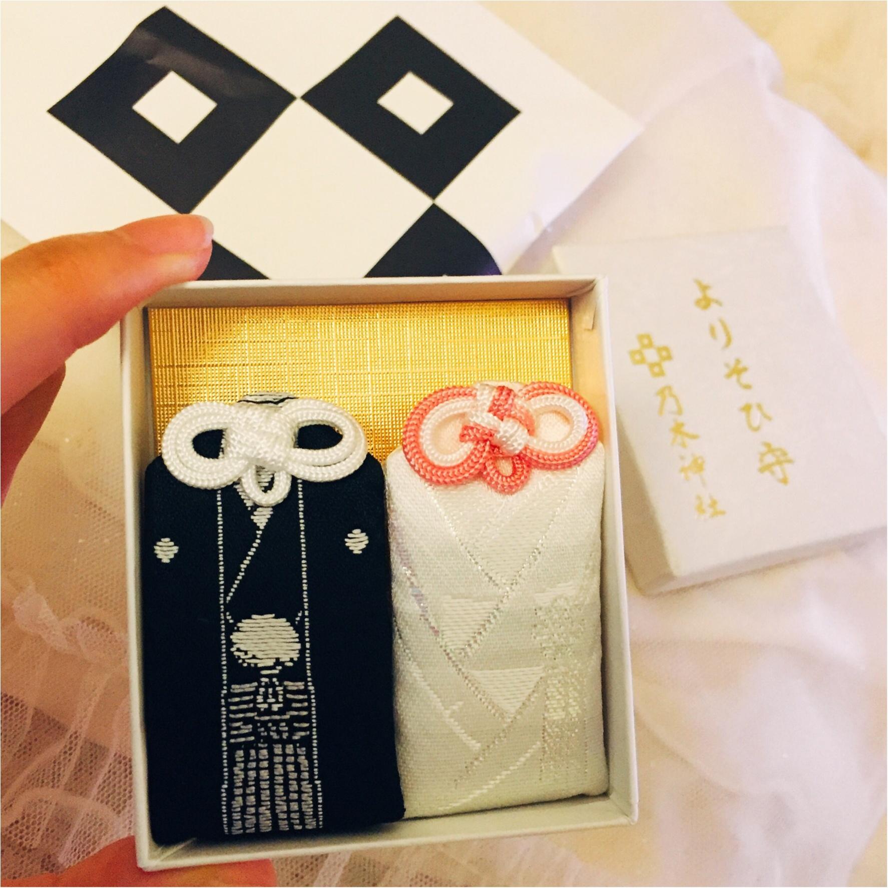 婚約祝い・結婚祝いのプレゼントに♡紋服・白無垢をあしらった『よりそひ守』が可愛すぎる!_3