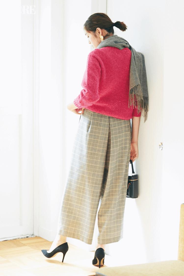 2018年秋のファッション ニット31