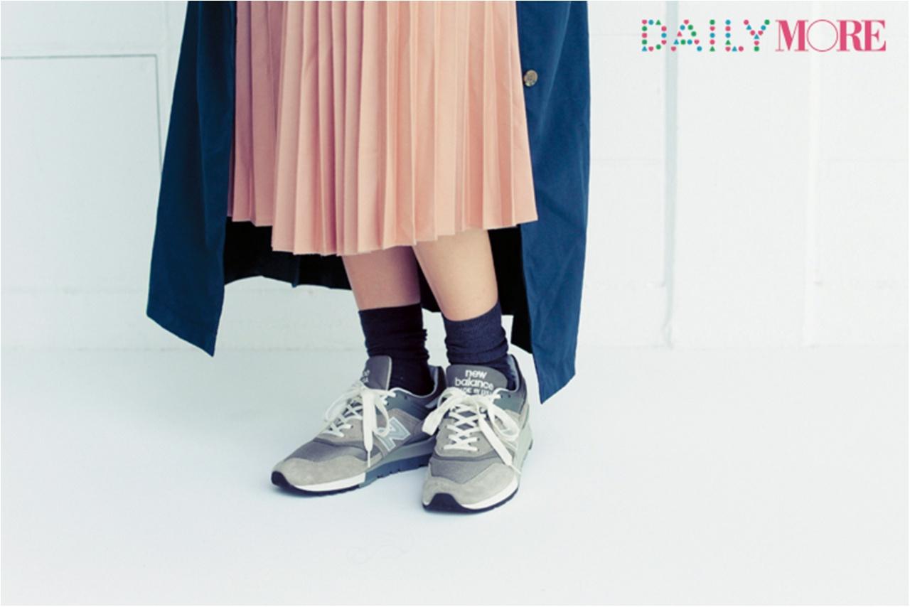 スタイリストやメーカープレスに直撃取材!【ふくらはぎが細く見えるソックスの履き方、教えてください!】_2
