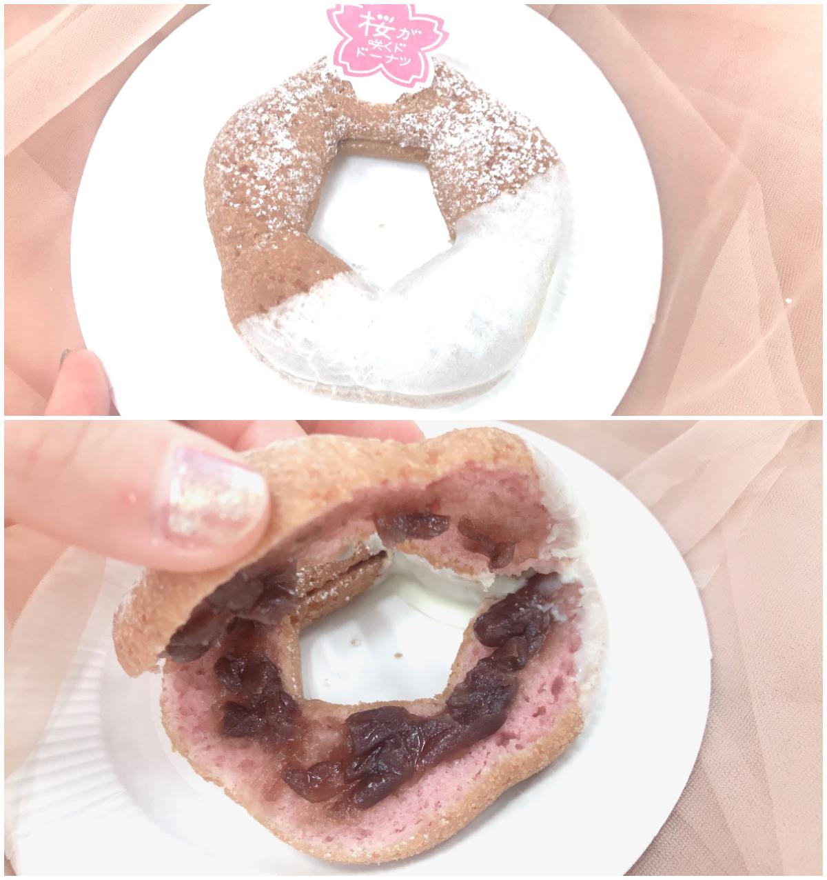 【ミスド 新作】「桜が咲くドドーナツシリーズ」6品を食べてみた♡ お花見のおやつにもおすすめ! _5