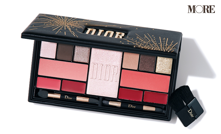 イベントメイクは『Dior』コフレがあれば‼ 捨て色なしの贅沢パレットで極上フェイスのできあがり♡【クリスマスコフレ2019】_1