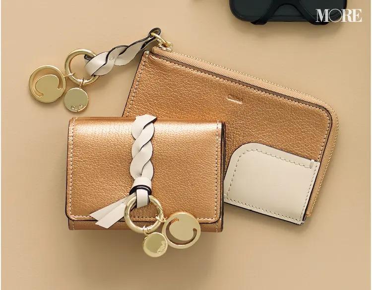 プレゼントにおすすめのChloéのイニシャル入りミニ財布とフラグメントケース