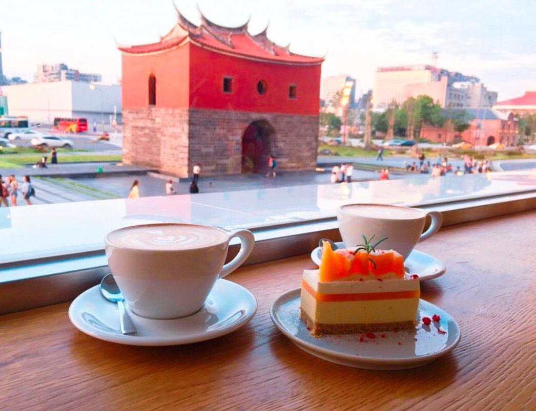 《台北のカフェ》観光名所「北門」が眺められるお店&美味しくておしゃれなケーキが楽しめるお店【 #TOKYOPANDA のおすすめ台湾情報 】_2