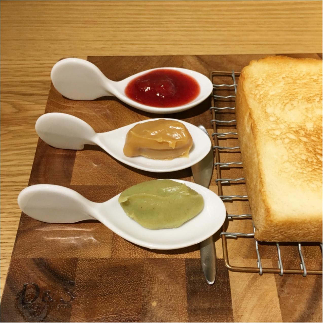 「まるで宝石のよう」16種類のジャムが絶品♡高級食パンとジャムが楽しめるカフェ《& jam(アンドジャム)》に行ってきました♡♡_5