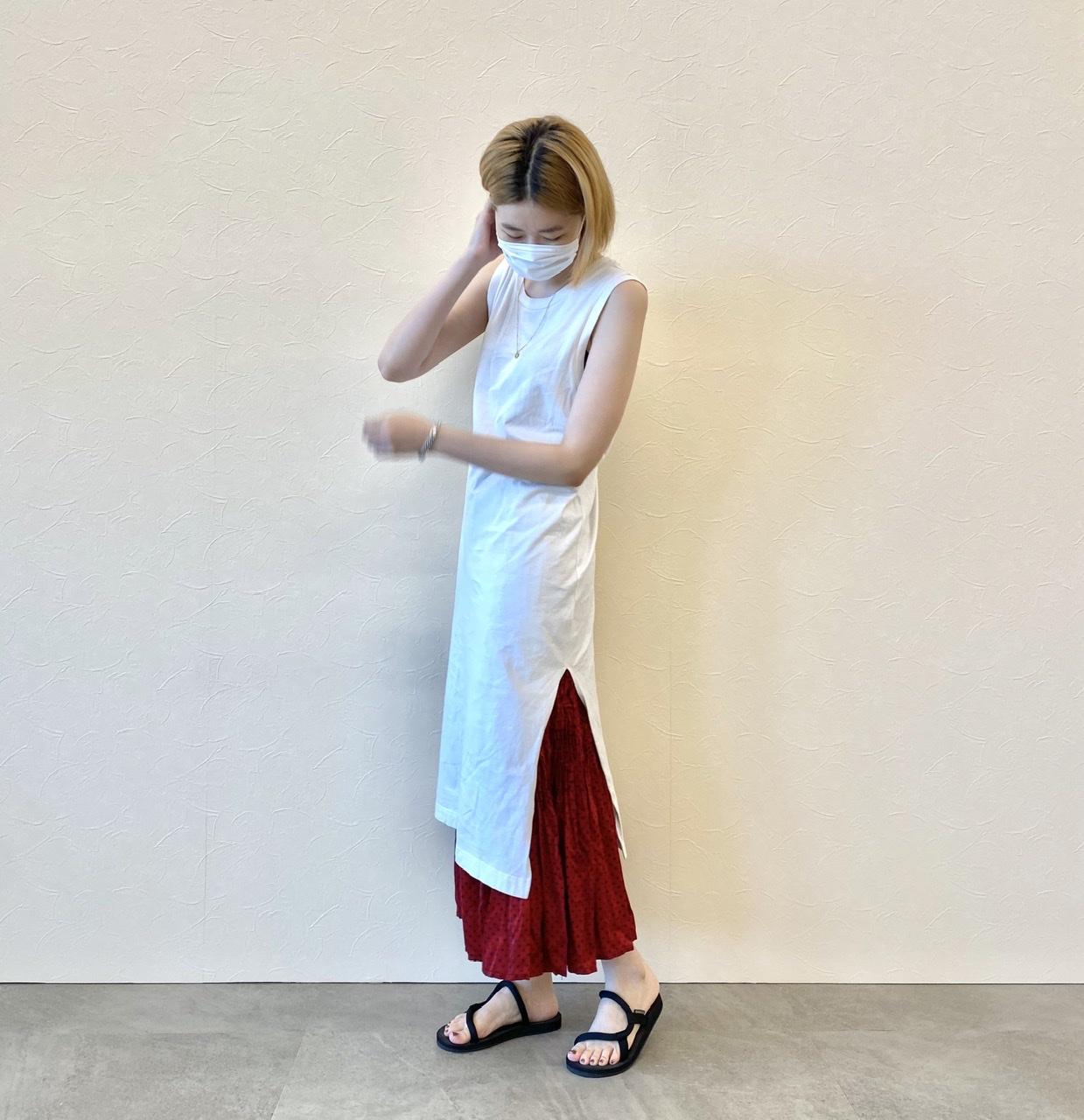 『ユニクロ』の洗えるプリーツが秋も大豊作♬︎ スカート、パンツ、ワンピース、全部着てみました!【2:柄物&ワンピース編】_4