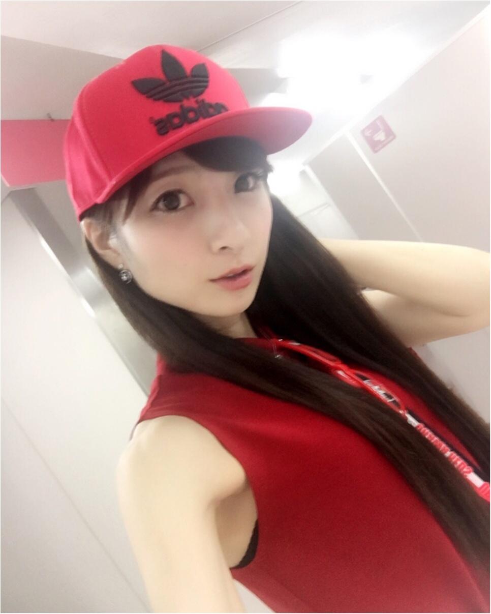 ♡【浦和レッズサポ女】サッカー観戦コーデ♡モアハピ◡̈のぞみ♡_5