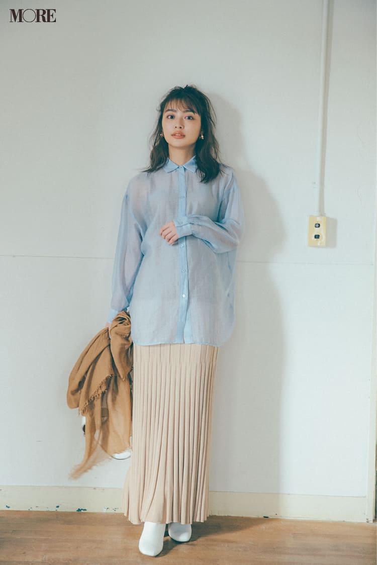 シースルーシャツのコーデ特集 - 透けるシャツ・ブラウスのおしゃれなコーディネートまとめ_22