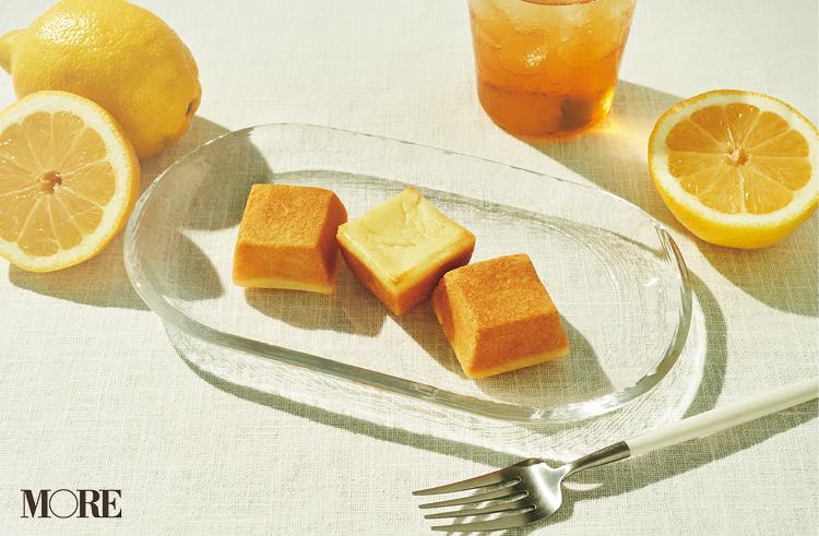 資生堂パーラーの「夏のチーズケーキ(レモン)」