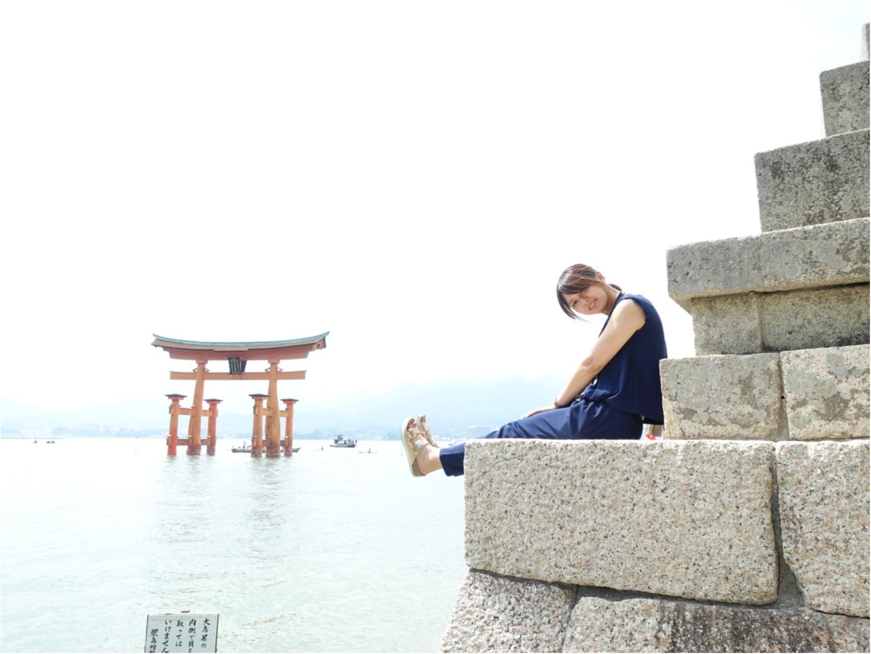 ★ガイドブックを持たずに【宮島】へ。1日密着!したいこと•食べたいもの、ぎゅーっと1日に詰め込んでとても充実した旅に!_17