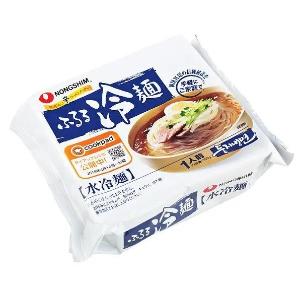 《カルディコーヒーファーム》おすすめの冷麺1.「農心 ふるる冷麺 水冷麺」