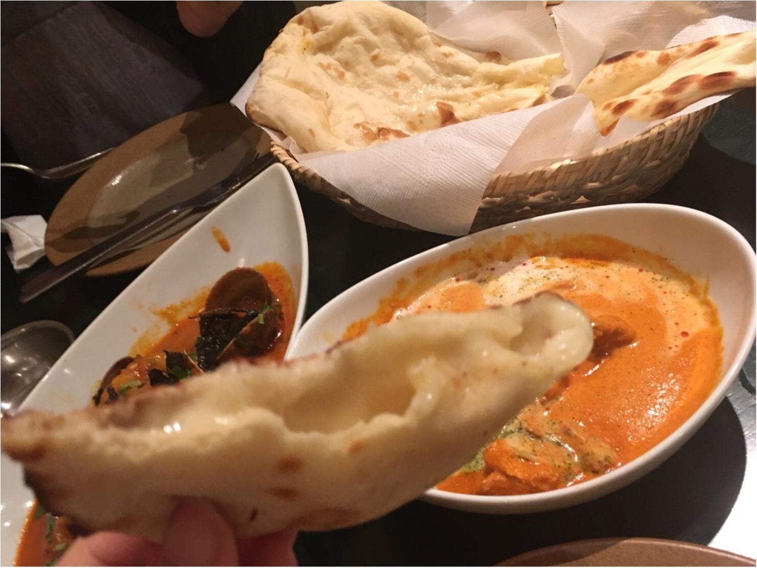 チーズクルチャと本格インドカレーを味わうならココ!!_9