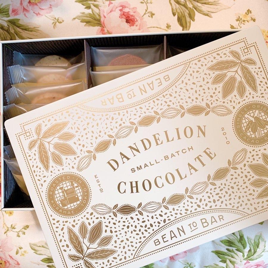 【米国発】DANDELION CHOCOLATE クッキー缶【ご褒美 手土産 おもたせ】_1